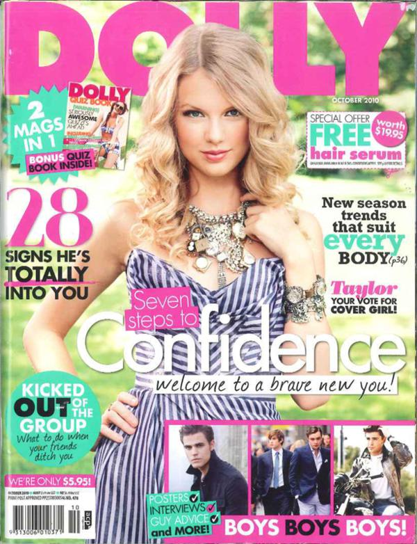 Dolly cover sepetember 2010.jpg