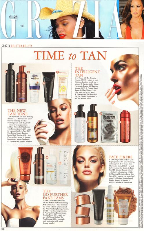 Grazia PureTan May 2012.jpg