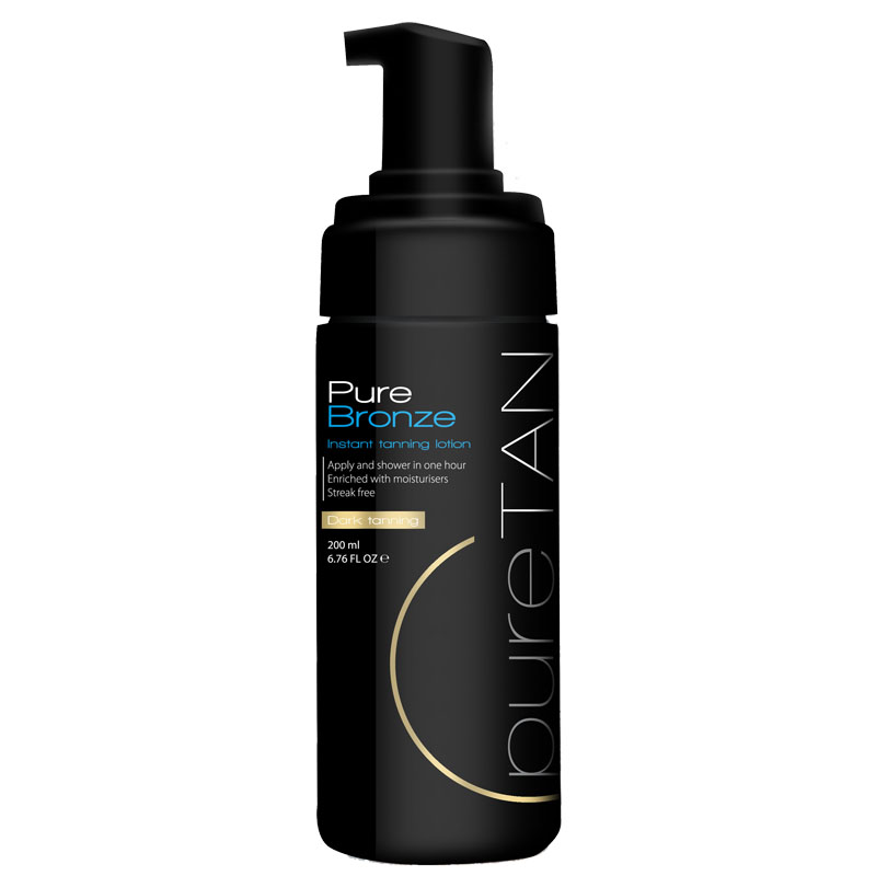 Pure Bronze Dark Instant Tanning Foam 150ml