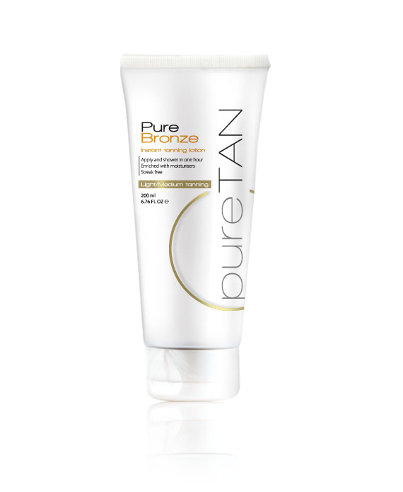 Pure Bronze Light Instant Tanning Lotion 200ml