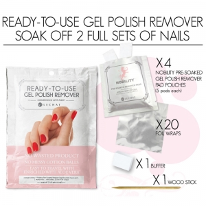 LeChat Ready-To-Use Gel Polish Remover